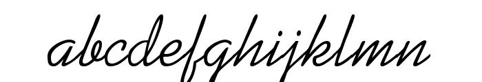 KaufmannStd Font LOWERCASE
