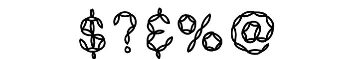 KBPastaForTwo Font OTHER CHARS