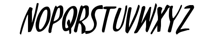 Kennebunkport Italic Font UPPERCASE