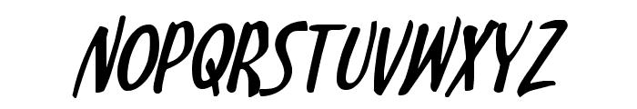 Kennebunkport Italic Font LOWERCASE
