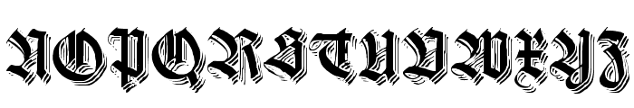 KilligrewStacatto Font UPPERCASE