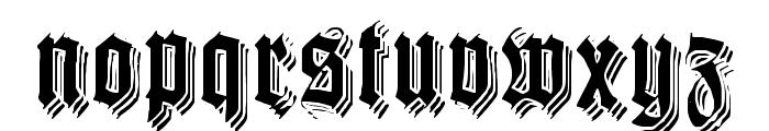 KilligrewStacatto Font LOWERCASE