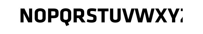 Klavika Basic Bold OT Font UPPERCASE