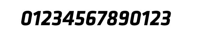 Klavika Bold Italic OT Font OTHER CHARS