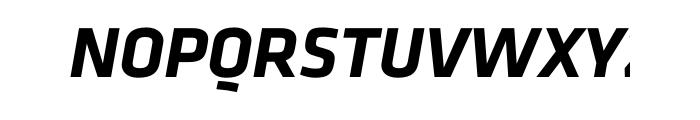 Klavika Bold Italic OT Font UPPERCASE