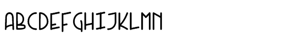 Kneebls Std Bold Font UPPERCASE