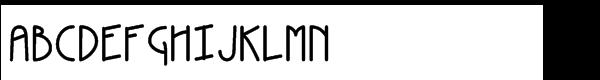 Kneebls Std Bold Font LOWERCASE