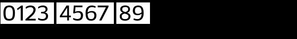 Kobern Medium Font OTHER CHARS