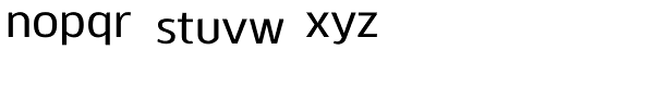 Kobern Medium Font LOWERCASE