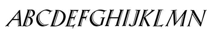 KochAltschriftKursiv-Bold Font UPPERCASE