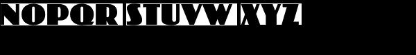 Koloss EF Font UPPERCASE