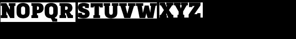 Kondolar Black Font UPPERCASE