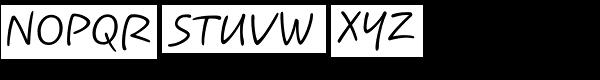 Koorkin Font UPPERCASE