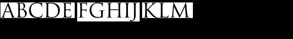 La Gioconda SC Font UPPERCASE