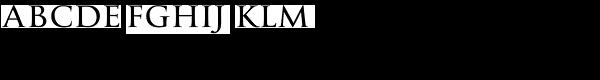 La Gioconda SC Font LOWERCASE