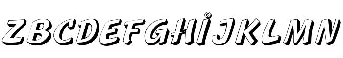 Lazuri  UTOPIC Font UPPERCASE
