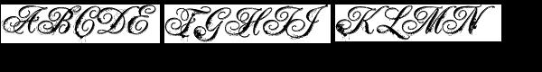 LD Artist's Intent Font UPPERCASE