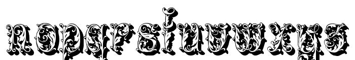 Leafyshade Font LOWERCASE