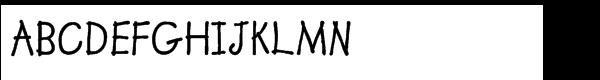 Lemonade™ Bold Font UPPERCASE