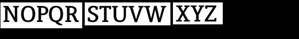 Lenga Extra Bold Font UPPERCASE