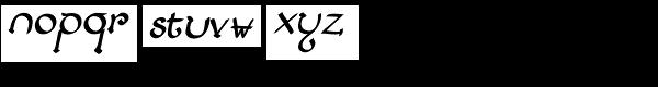 Lestatic Lashed Oblique Font LOWERCASE