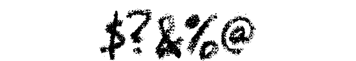 LeviCrayola Font OTHER CHARS