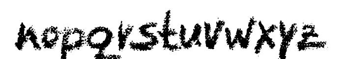 LeviCrayola Font LOWERCASE