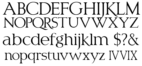 LHF Classic Roman ALT Font