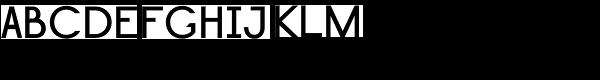 Lightbox Bold Font UPPERCASE