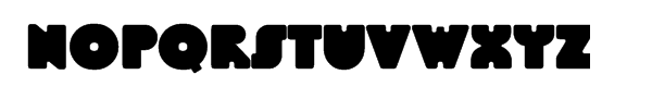 Linotype BlackWhite™ Headline Font UPPERCASE