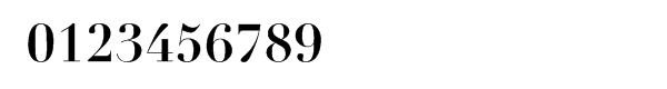 Linotype Didot™ Bold Font OTHER CHARS