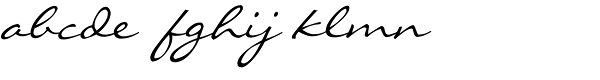 Liorah BT Font LOWERCASE