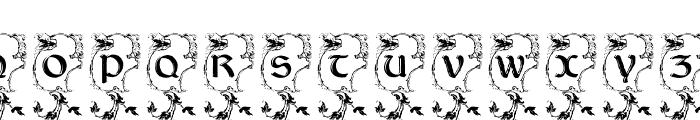 LisburneInitials Font UPPERCASE