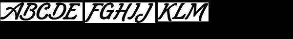 Lombriz Font UPPERCASE