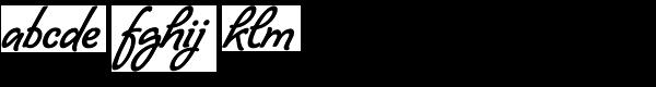 Lombriz Font LOWERCASE