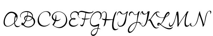 LovelyAudreyBG Font UPPERCASE
