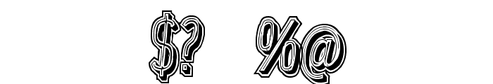 LowerMetal Font OTHER CHARS