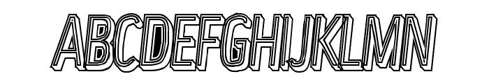 LowerMetal Font UPPERCASE