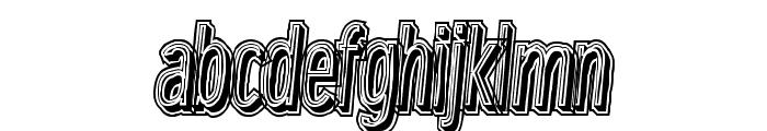 LowerMetal Font LOWERCASE