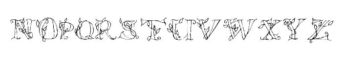 LSLeaves Font LOWERCASE