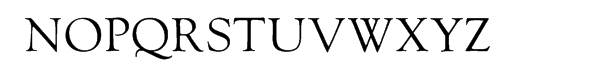LTC Goudy Oldstyle Regular™ Font UPPERCASE