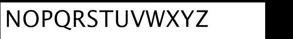 Lucida® Sans Std Roman Font UPPERCASE