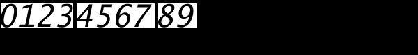 Lucida Sans Typewriter Std Obl Font OTHER CHARS