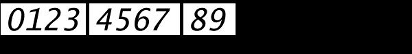Lucida Sans Typewriter Std Oblique Font OTHER CHARS