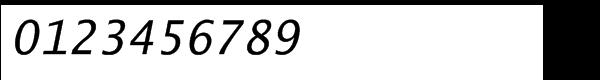 Lucida® Typewriter Sans Std Oblique Font OTHER CHARS