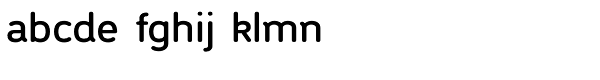 Lucy Samuels Semi Bold Font LOWERCASE