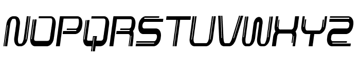 Lunarmax-CondensedItalic Font UPPERCASE