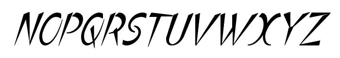 Luteous Aublikus Font UPPERCASE