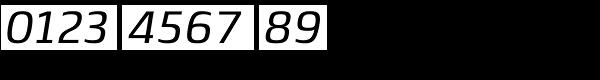 Lytiga Pro Medium Italic Font OTHER CHARS