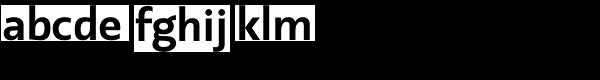 Machinato Bold Font LOWERCASE